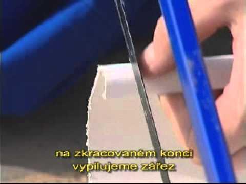 Okapy montáž
