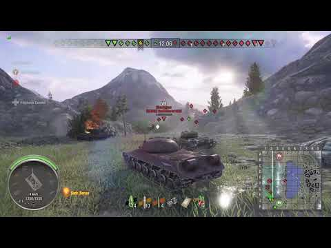 World of Tanks Xbox one Fatherland IS-3A 8 Kills (From 3 mins in )