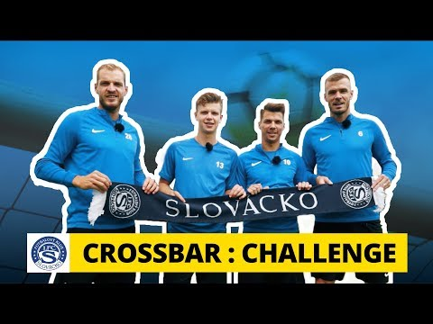 Crossbar Challenge na Slovácku: Hellebrand se trefí i se zavázanýma očima!