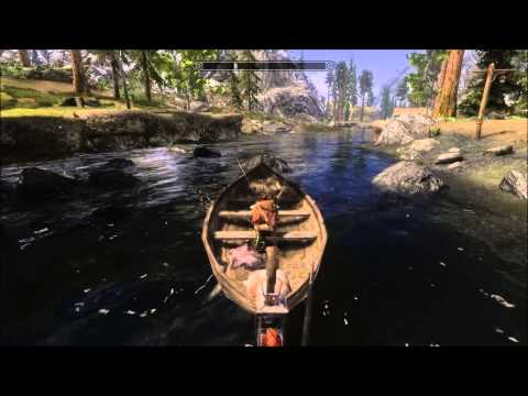 Skyrim MOD: Finally! Real Boats!