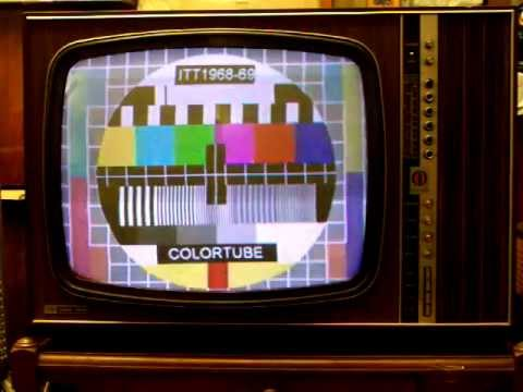 itt schaub lorenz 1968 69 televisore tv color a valvole vintage collezione di colortubemania. Black Bedroom Furniture Sets. Home Design Ideas