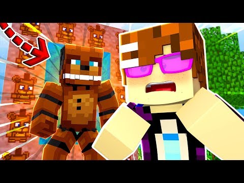 Minecraft FNAF - How To Make A Portal To The FIVE NIGHTS AT FREDDY'S WORLD! | Minecraft Roleplay