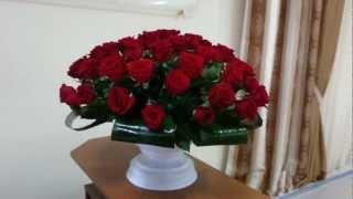 Вазон 55 роз