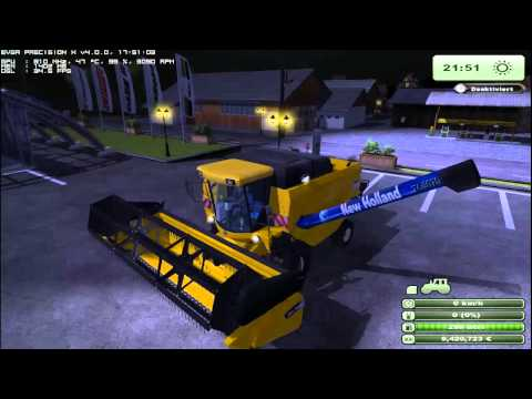 farming simulator 2013 NEW HOLLAND PACK CR9090+ CT5070 (test mods) by fmarco95