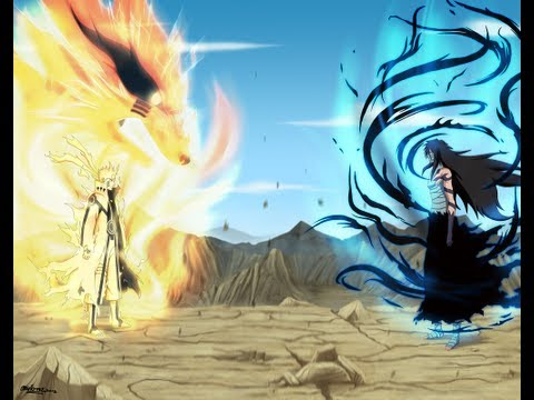 Naruto Uzumaki Vs Sasuke Uchiha Final Battle [amv]- The Reckoning! 2013 (new) video