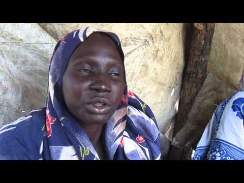 SDFG  interview with Al Ajbaah Shandi Khyar, at Yusuf Batil refugee camp in Upper Nile
