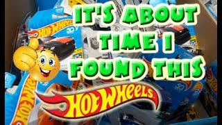 Its about time I found this Hot Wheels car!!!