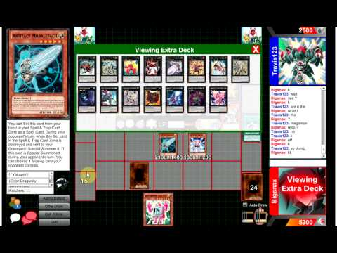 Competitive Yugioh Duels - Batteryman (me) Vs S Knights - Who Plays Mal Cat !?!?!?! video