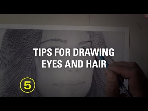 Critique No. 4: Tips on Drawing Eyes and Hair