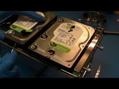 Western Digital Heads Swap in Data Recovery process