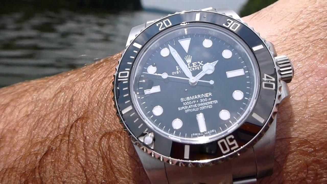Rolex Submariner Watch Oystersteel  M1140600002