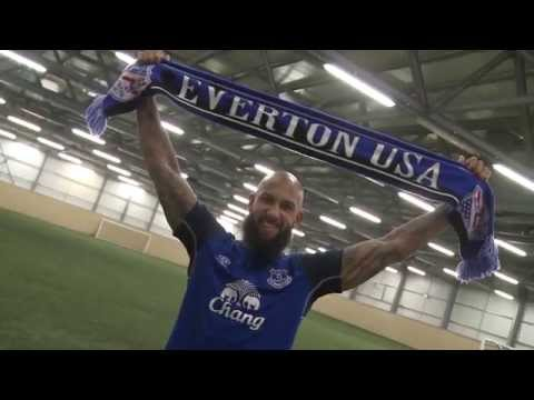 Tim Howard invites Americans to join EvertonUSA