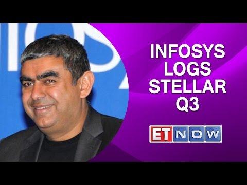 Infosys Logs Stellar Quarter 3