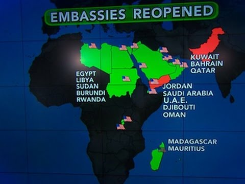 U.S. embassies reopen amid ongoing terror alert