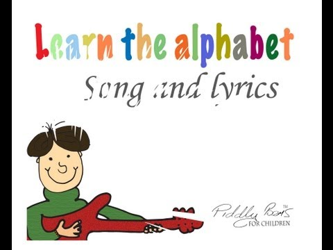 Children's Song And Lyrics .....  Learning The English Alphabet Song  ....kid's Abc Song video