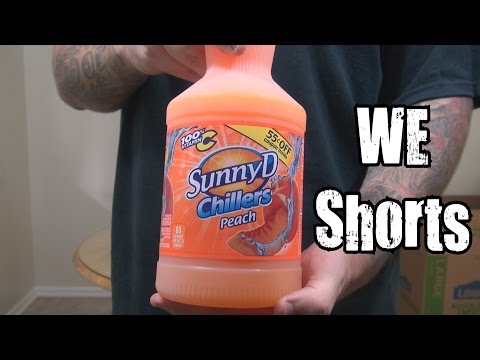 WE Shorts - Sunny D Chillers Peach