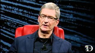 Apple CEO Tim Cook Talks Steve Jobs, Apple Innovation and  More - D10 Conference