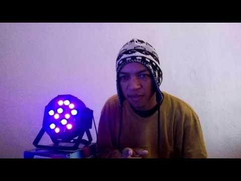 Review Canhão de LED (Mini Par Lights) (Teste e Opinião)