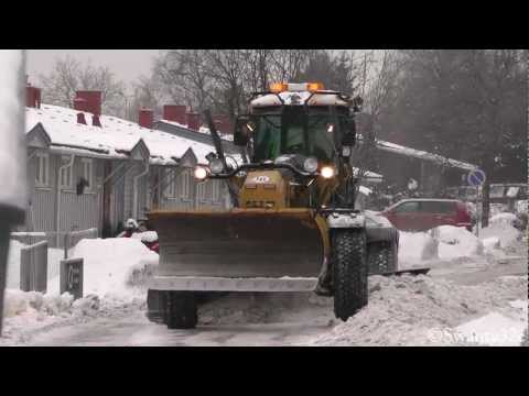 CAT 160M Snow & Ice Clearance