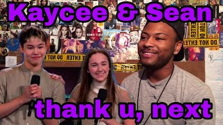 Kaycee Rice & Sean Lew | Ariana Grande - thank u, next | Jojo Gomez Choreography | Reaction