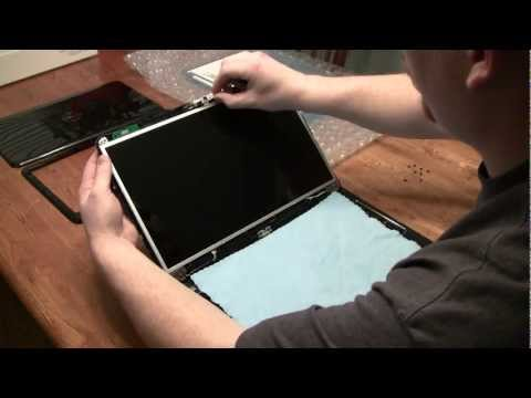 Laptop screen replacement / How to replace laptop screen Dell Inspiron 15R N5110