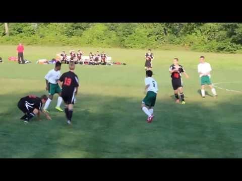 Bishop Brady High School Varsity Soccer 1st game of Season - short clip - 09/12/2013