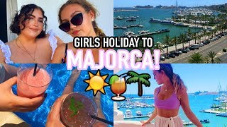 GIRLS HOLIDAY IN MAJORCA!! (but without the clubbing lol) | Weekly Vlog