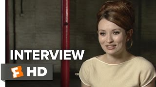 Legend Interview - Emily Browning (2015) - Crime Movie HD