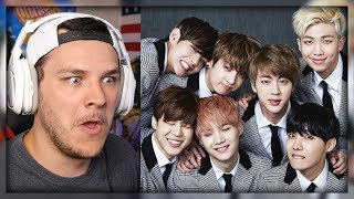 Non K-Pop Fan Watches BTS For The First Time *AMAZING*
