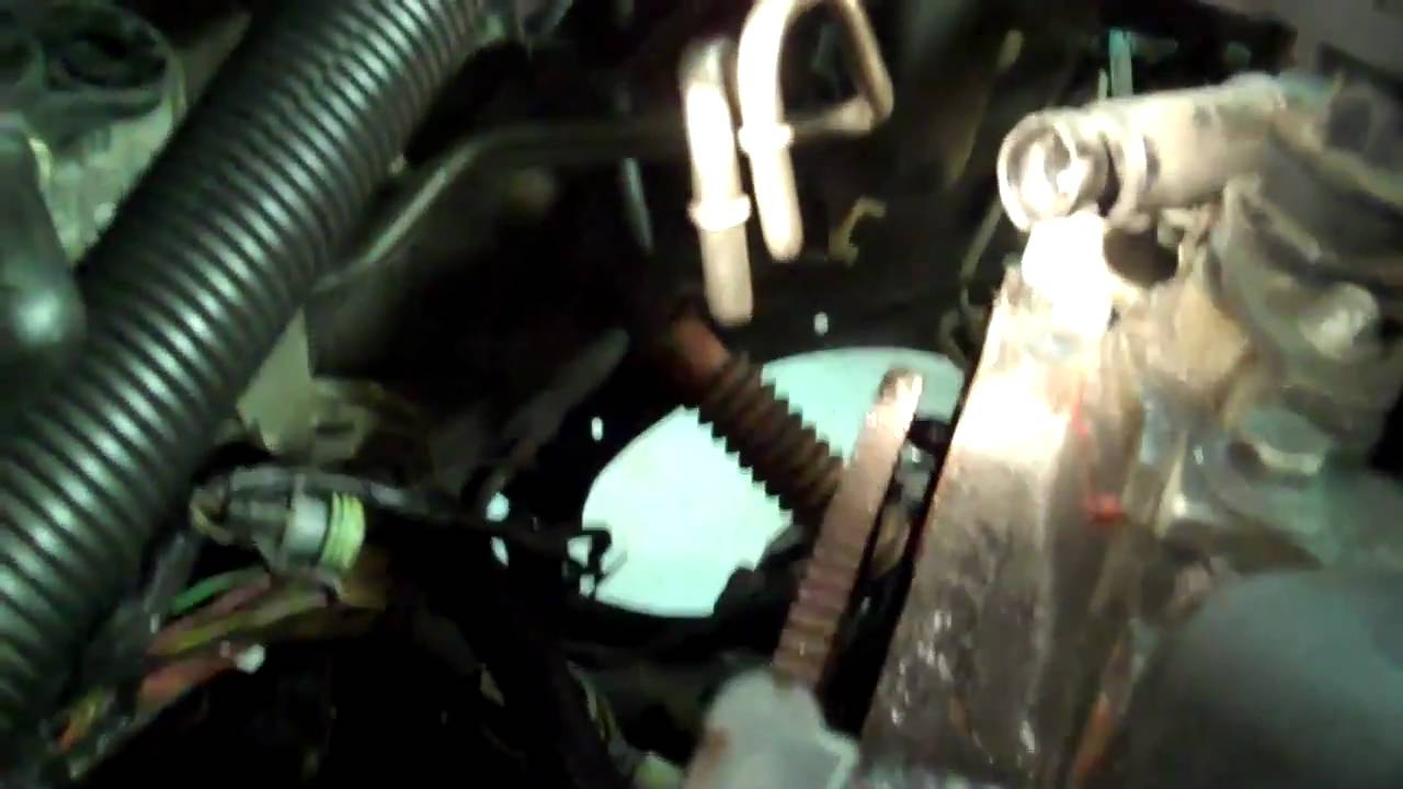 vortec engine removal youtube