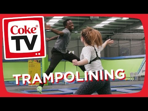 Manny's Trampolining Adventure | #CokeTVMoment