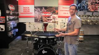 4 Cymbals and 3 Toms on 2 Stands | Brent's Hang