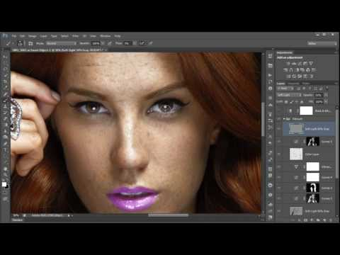 Krunoslav Stifter - Redhead Girl With Freckles Retouch - Photoshop CS6 Tutorial