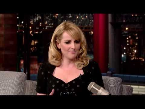 Melissa Rauch on Letterman - March 13, 2014