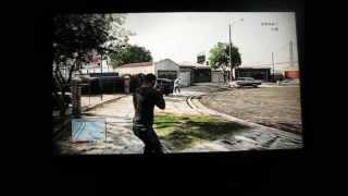 Grove Street in GTA V GTA 5 (Ballas take-down) Actual footage of gameplay on PS 3