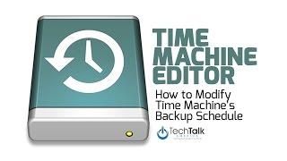 Scheduling Apple Time Machine Backups