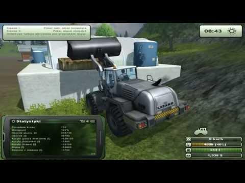 Zagrajmy w Farming Simulator 2013 na multiplayer #40 Latająca wełna i gol kosiarką o.O