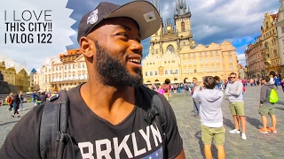 "Welcome to PRAGUE, CZECH REPUBLIC!!!!  Vlog 122    ""I Love, Love, Love PRAGUE"""