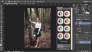 Photoshop Retouching Panel Colorful Filters