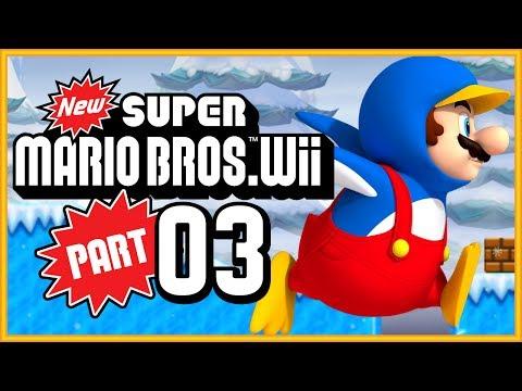 New Super Mario Bros. Wii - World 3 100% (All Star Coins)