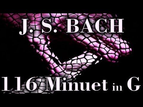 Бах Иоганн Себастьян - Bwv 116 Minuet In G
