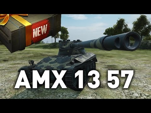 World of Tanks || AMX 13 57 - Tank Preview!