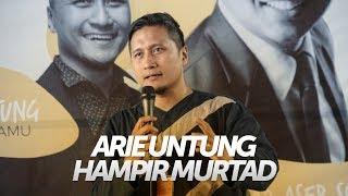 Kisah Arie Untung Menjemput Hidayah Hingga Mengajak Istri Berhijrah