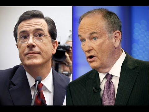 Bill O'Reilly Attacks Stephen Colbert