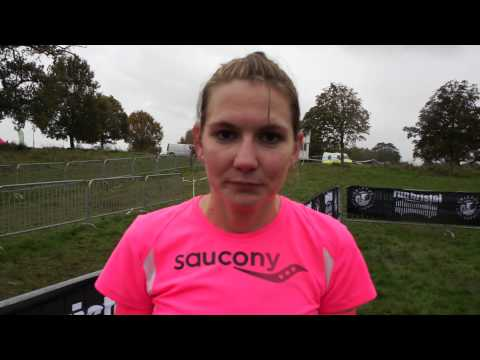 McCain Bristol Cross Challenge - Senior Women's winner Caryl Jones