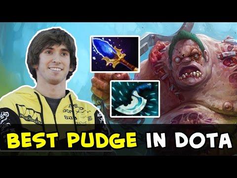 Dendi best Pudge in Dota — VAC Hooks, pls ban