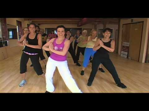 Zumba Fitness With Nicole: Response To Shakira's Waka Waka For 1goal video