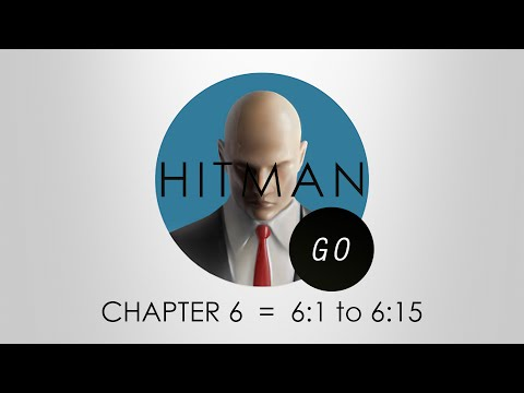 Hitman Go Walkthrough - Chapter 6 - Levels 6:1 to 6:15 - PS4   Red Eye Trophy Guide