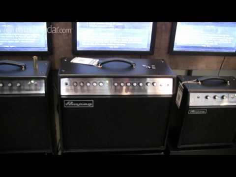 Ampeg GVT Series guitar amps demo at Frankfurt Musikmesse 2011