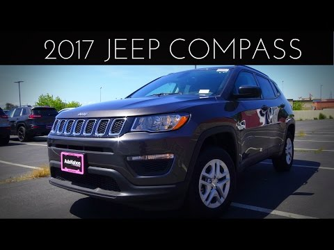 2017 Jeep Compass Sport 2.4 L 4-Cylinder Review